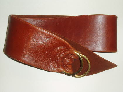 Cognac Tan  Leather with Toning Suede Lining